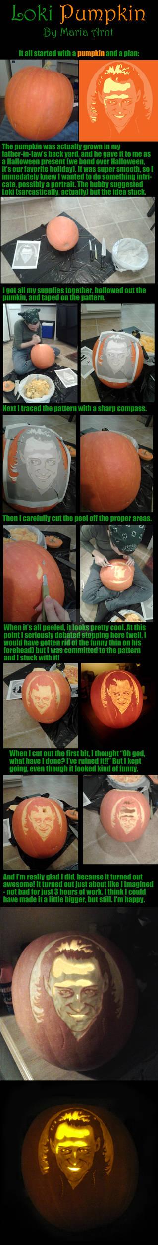 Carving the Lokilantern