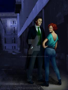 Vampire Hunter illustration