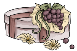 Secret Pony Adopt: Graceful Grape Gift Box by Blesses