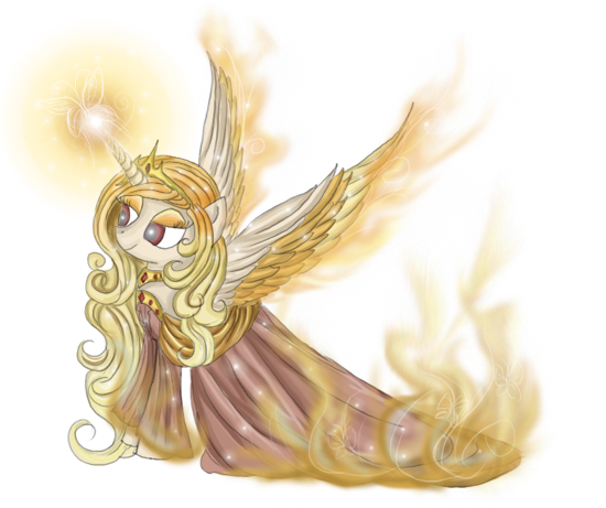 Pony Point Adopt: Phoenix Pony {CLOSED} by Blesses