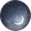 Moon Icon by Blesses
