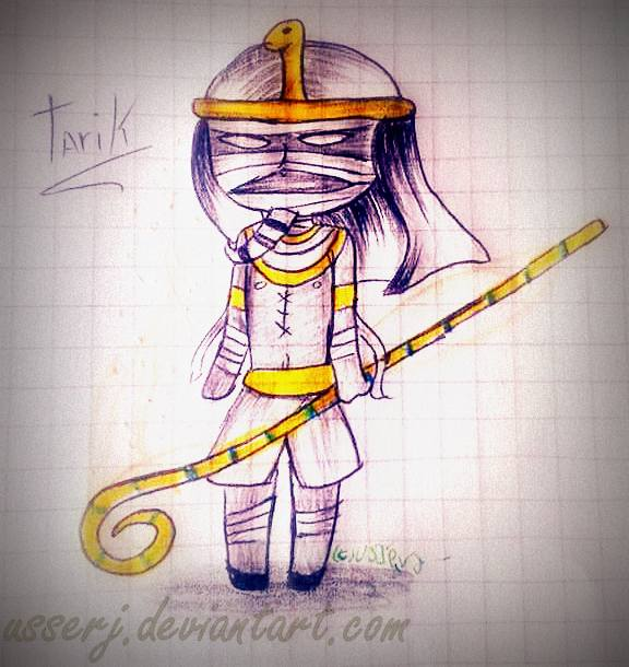 Tarik / Faraon [CHIBI] by UsserJ