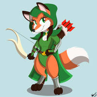 Aerilyn, Vixen Ranger