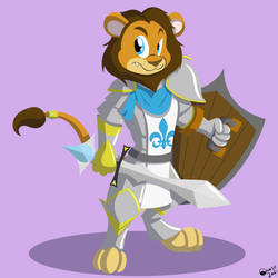 Phillip, Lion Paladin