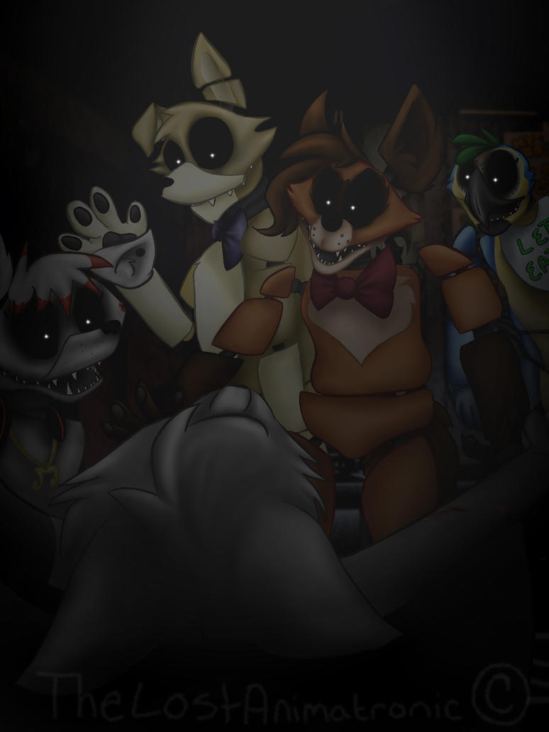 Five Nights At Losty's~ Hallows' doom by TheLostAnimatronic