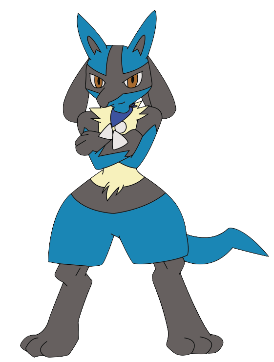 Zach the Lucario 2 by Zach-USA