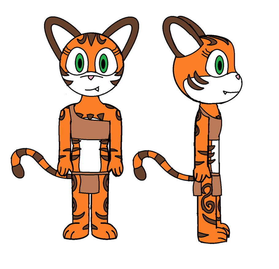 Kiki the Tiger (jurassiczalar) by Zach-USA on DeviantArt