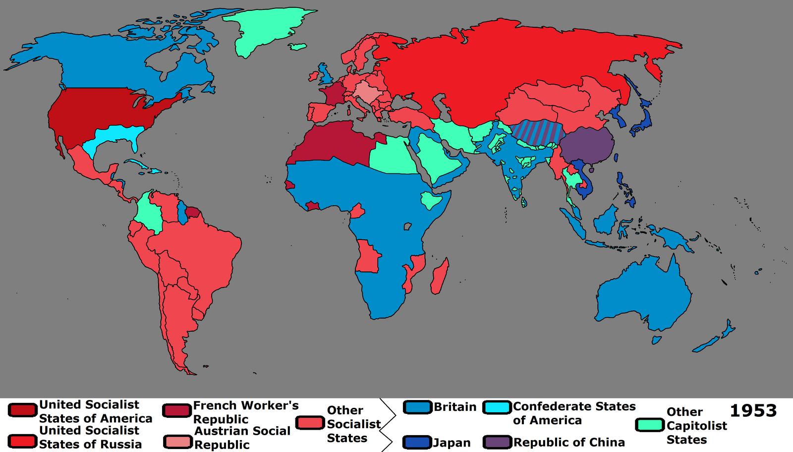 Communism spread in us map