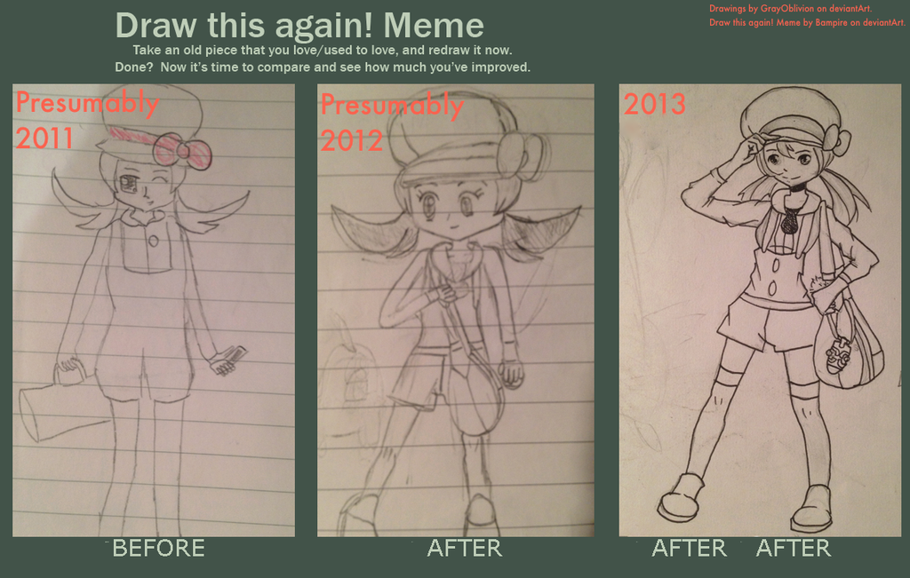 Draw this again meme lyra by grayoblivion on deviantart for Draw this again meme template