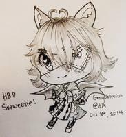 HBD Sueweetie! by GrayOblivion