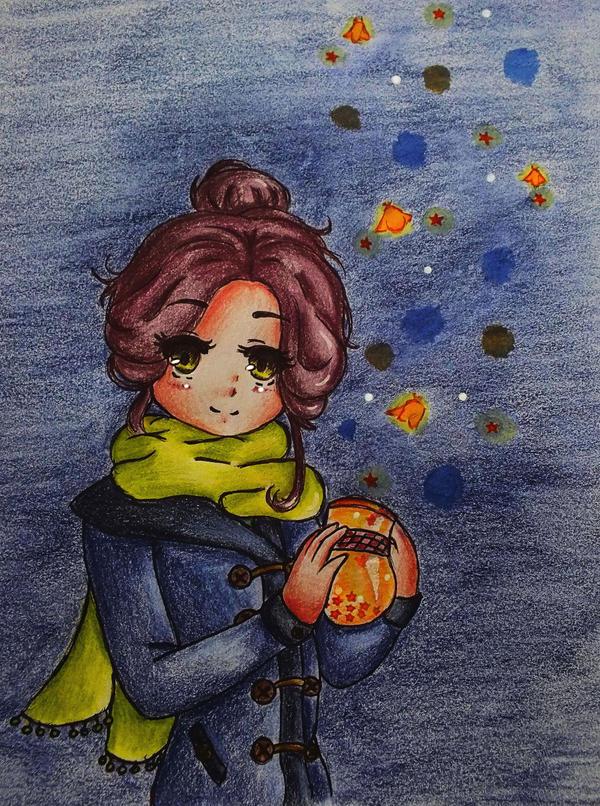 November Lights by Falivie