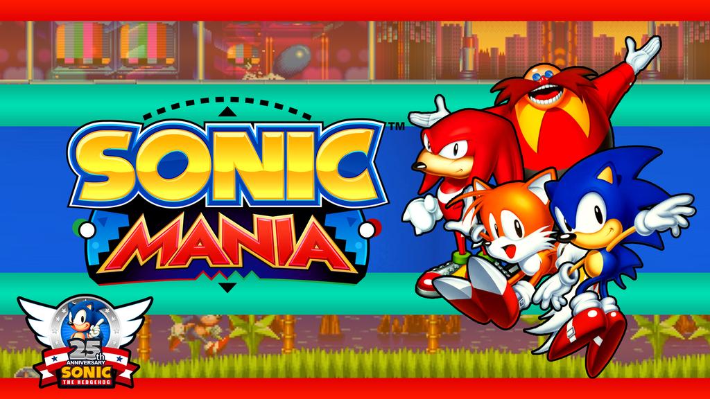 Sonic Mania Fan Wallpaper