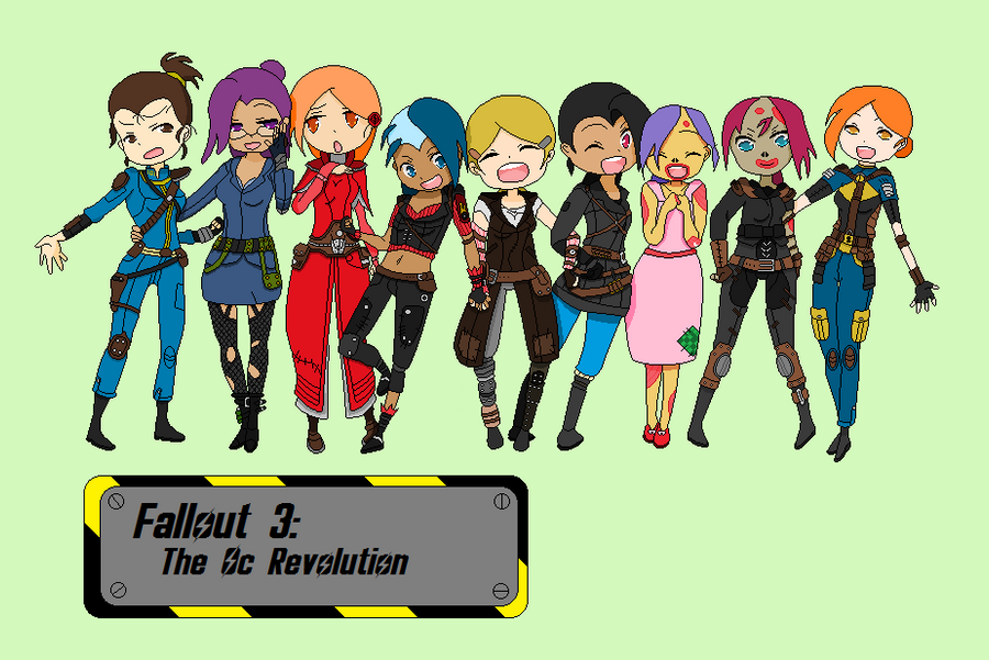 Fallout 3 Anime Characters : Deviantart appreciation station distended stomachs and