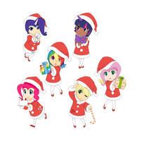 A Very MLP Christmas by Mattmankoga