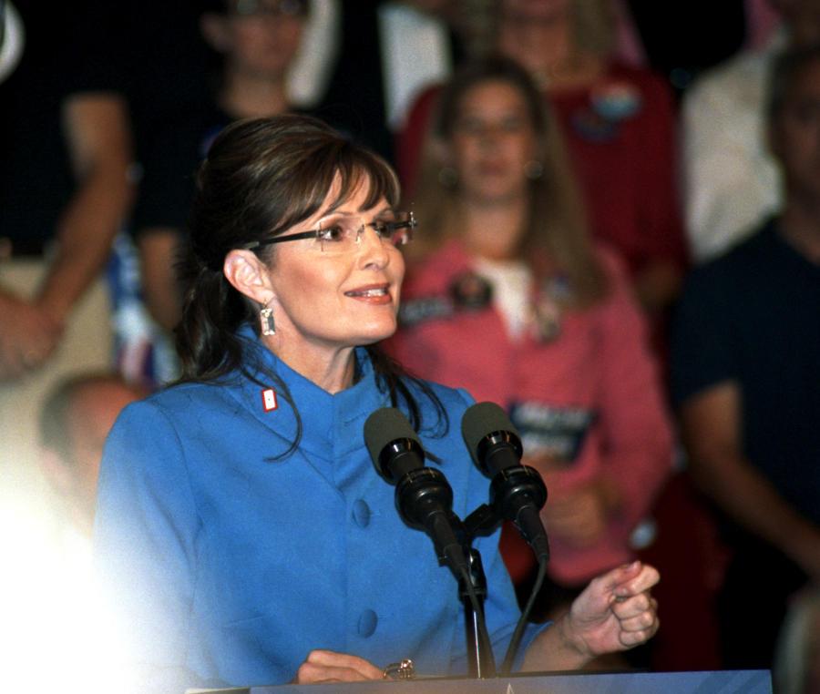 Sarah Palin 2008 Rally