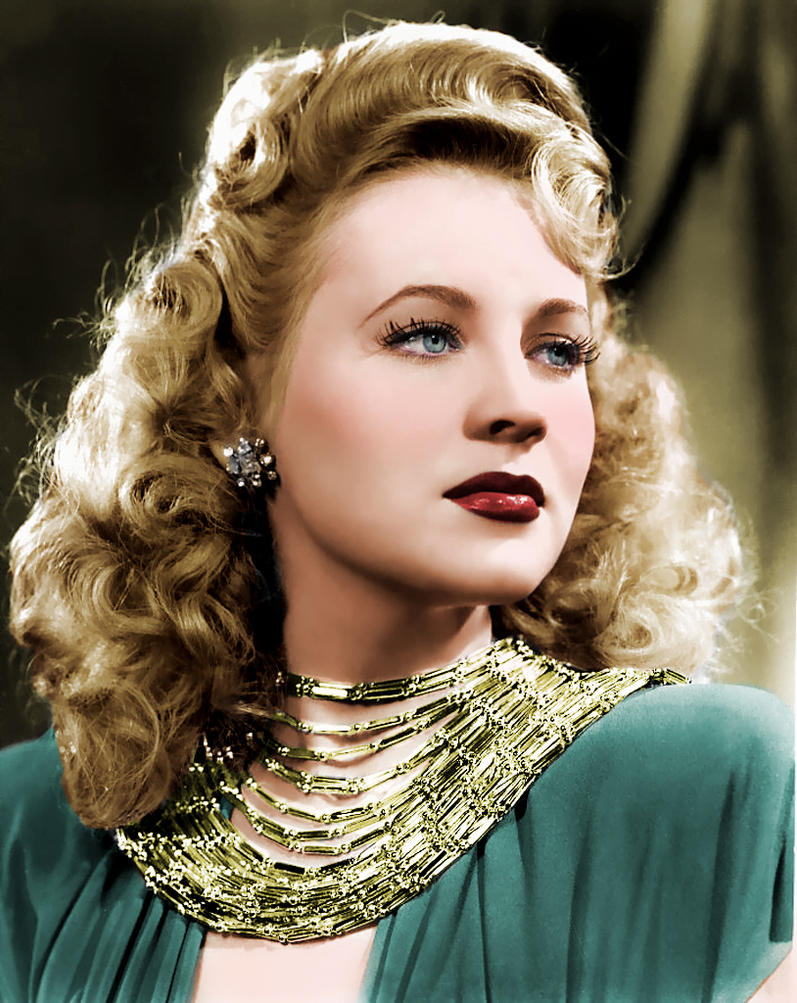 Anne Jeffreys Colorized by NorthOne