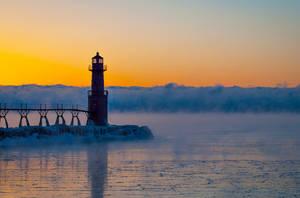 Algoma Lighthouse by NorthOne