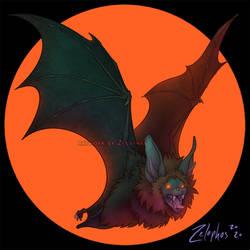 Moonlit Bat