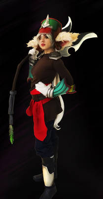 Female Kled Cosplay League of legends
