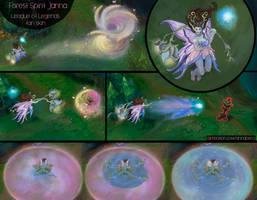 Forest Spirit Janna - Fan skin by AnnaPerci