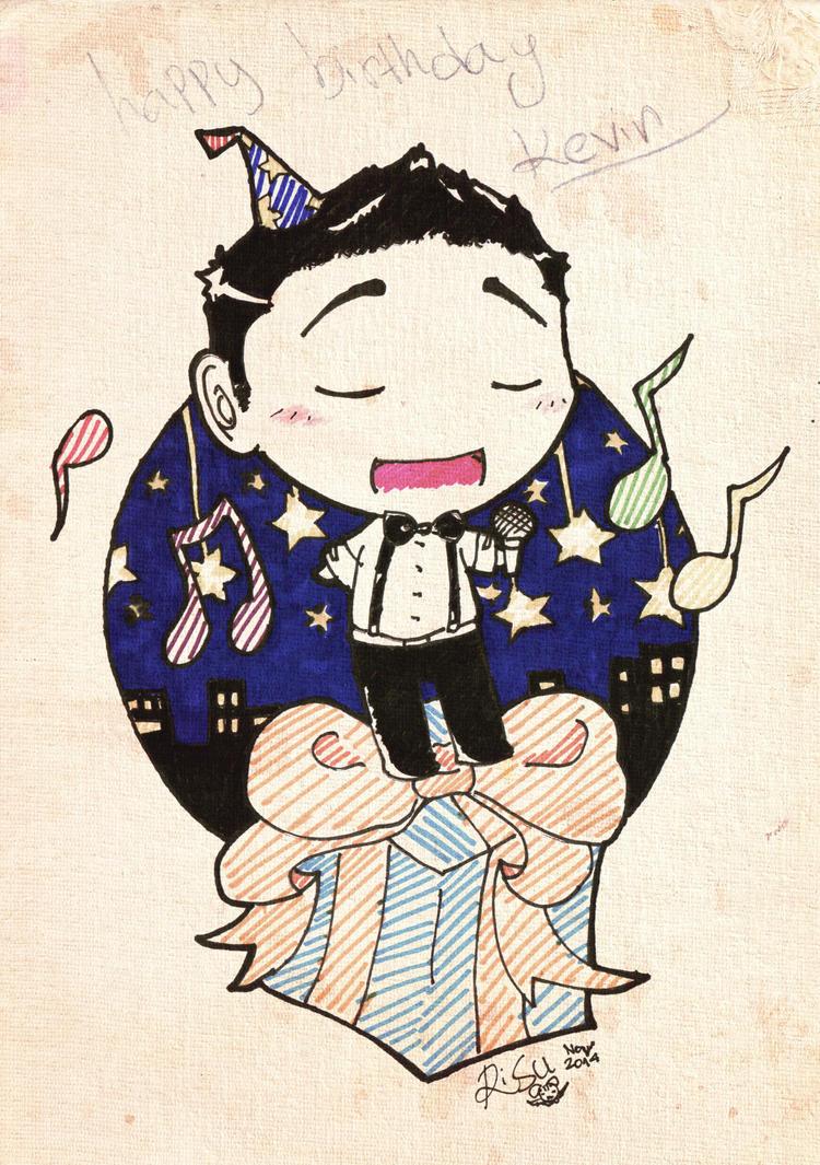 HBD Kev~!! by YukiGico