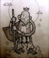 monkey king pencils by mastrcbaoth