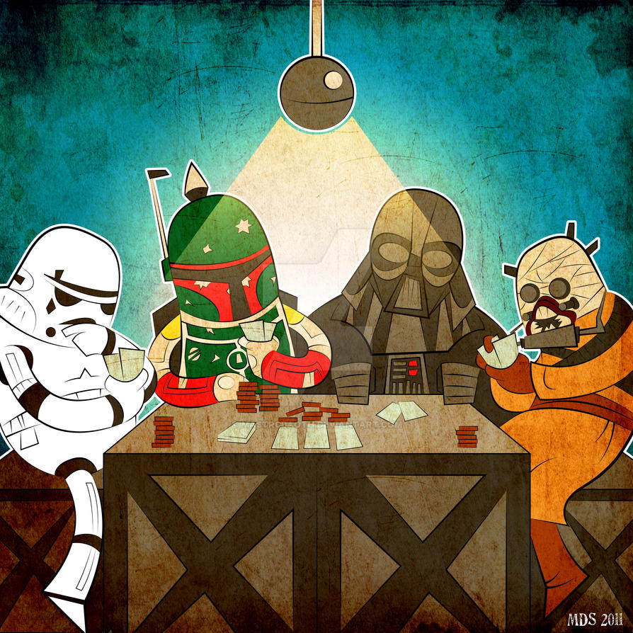 Star Wars Poker by mastrcbaoth