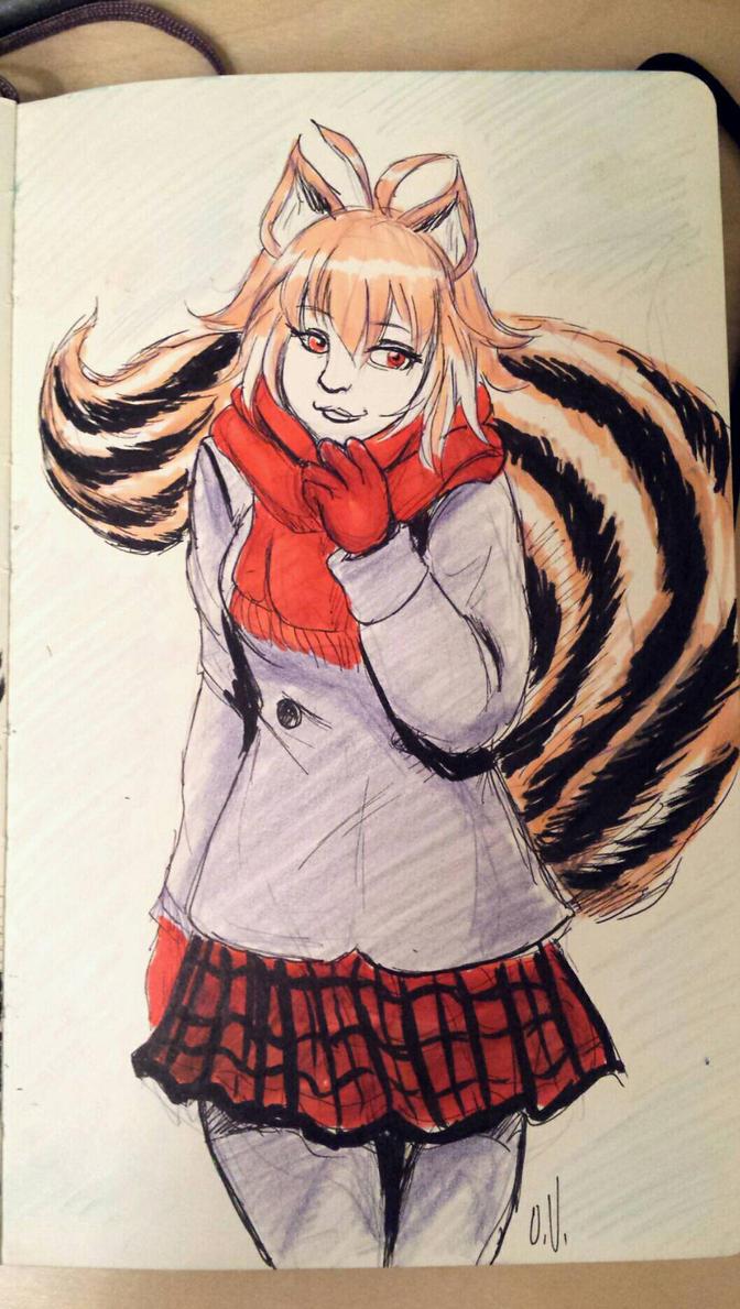 Winter Makoto Nanaya by Beuzer0
