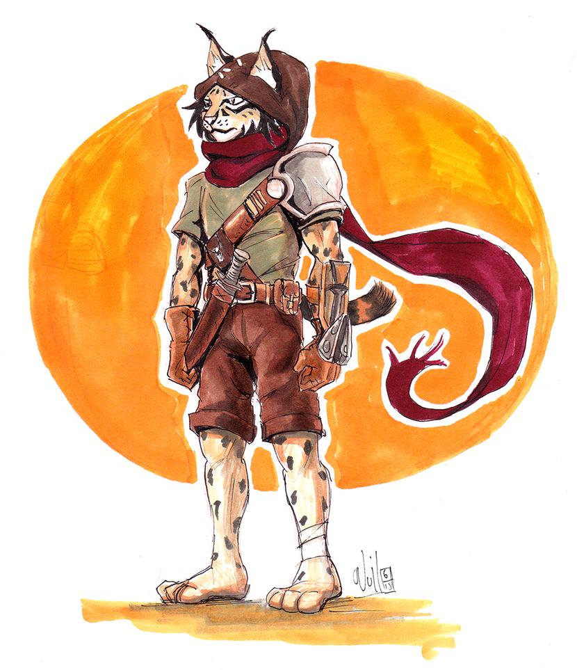 Lynx Boy by Beuzer0