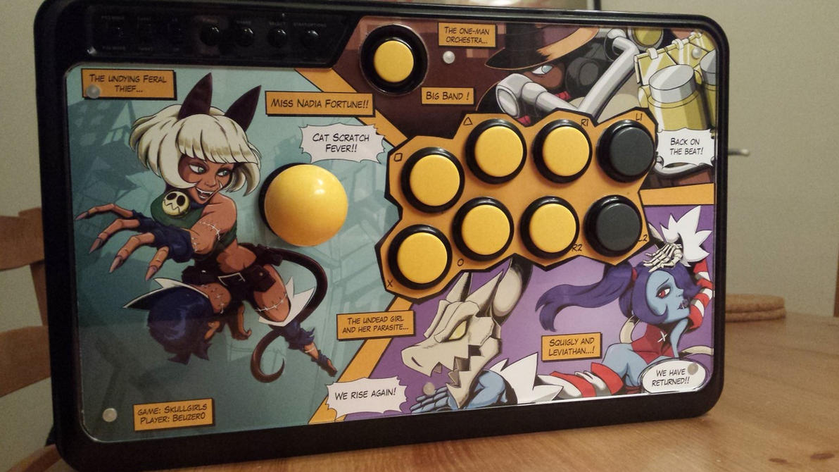 My Arcade Stick mod by Beuzer0