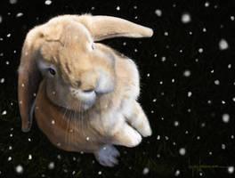 Cute Bunny in Gimp by LopezLorenzana