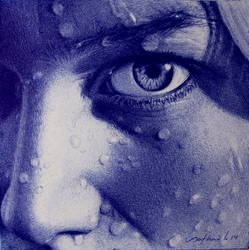 Inside - Ballpoint pen drawing