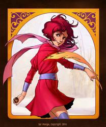 The Artist - original character for Manga School by LopezLorenzana