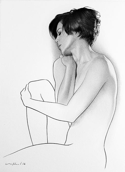 Ballpoint Pen Art - Prologue by LopezLorenzana