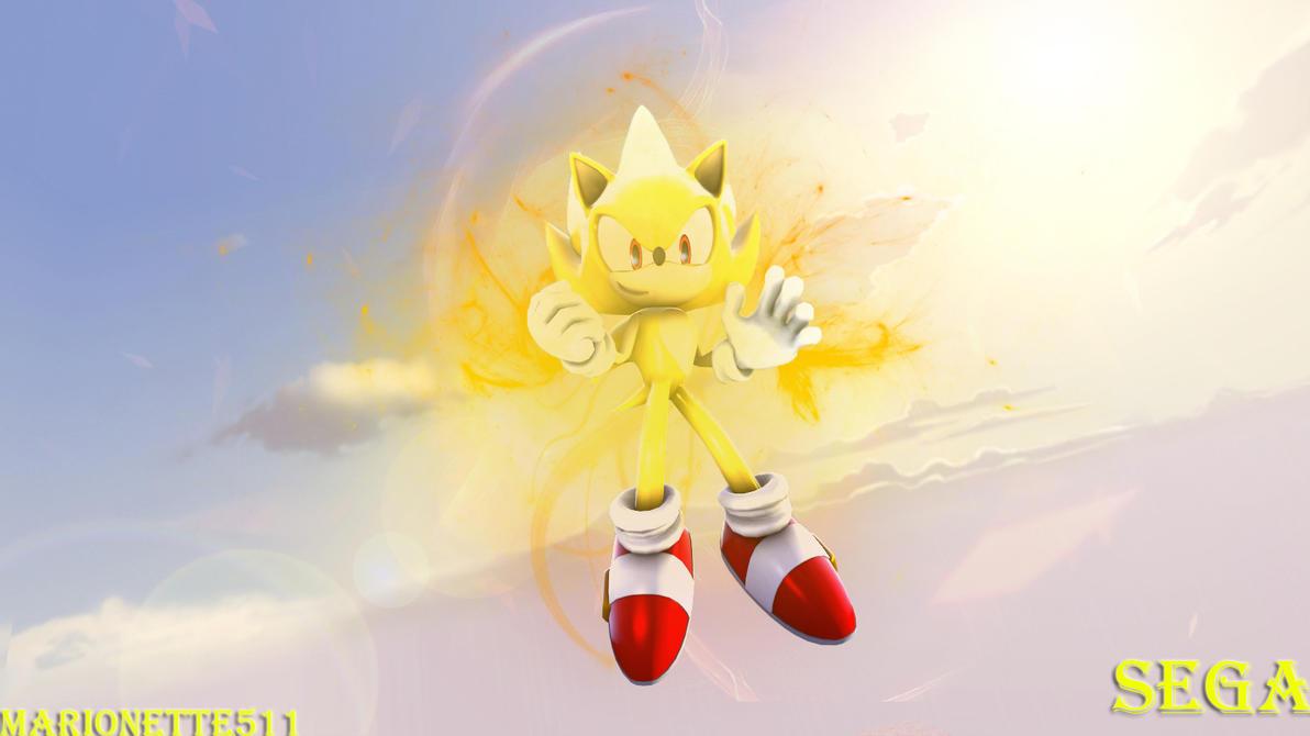 (Sfm Art)-Super Sonic X by marionette511