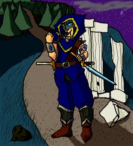 Eladrin Avenger, Morrithar by SeprenMaelstrom