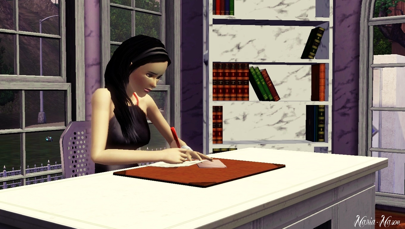 send a letter maria sims 3 write a letter to you by on deviantart 52858