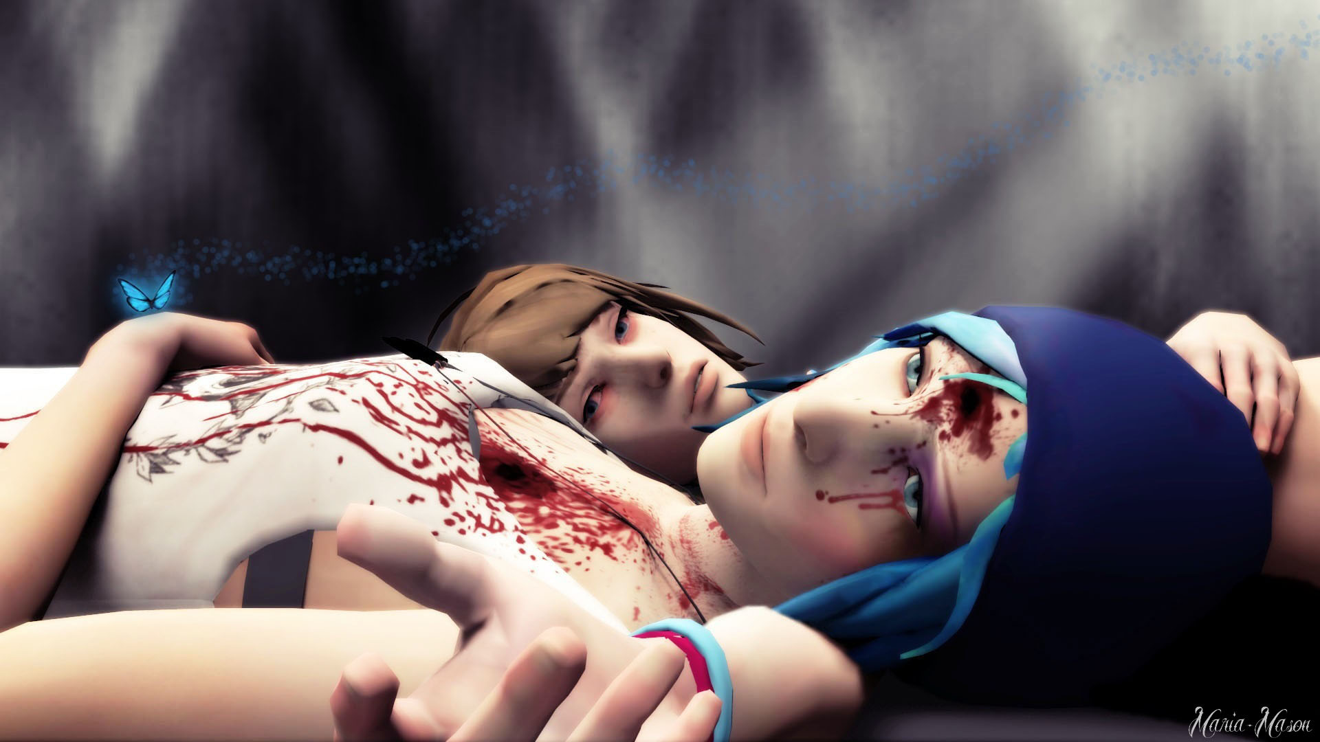 LiS - Max in the dark room by Maria-Mason on DeviantArt
