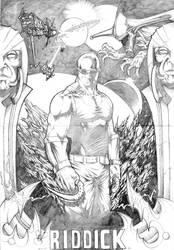 Riddick Fanart by Jehuty01