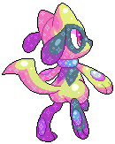 free shiny riolu pixel [F2U] by PaperSkirt