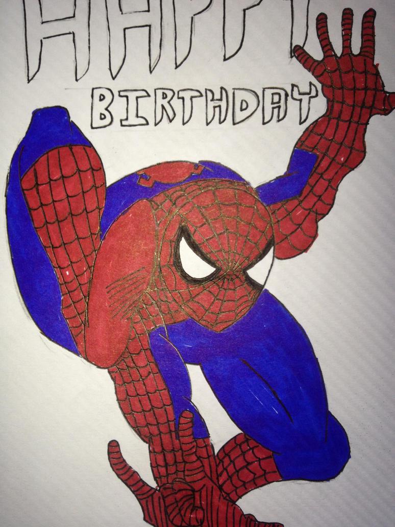 Happy Birthday Meme Spiderman