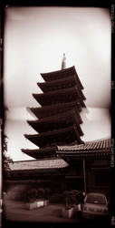 leaning pagoda by PukeChrist