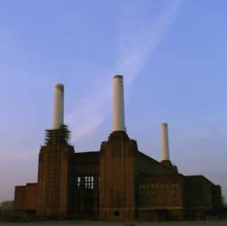 Battersea power station by PukeChrist