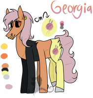 Georgia Ref-MLP NG by Shiny-s-Universe