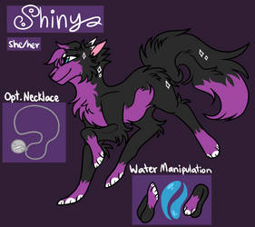 Shiny-2019 Feral Reference by Shiny-s-Universe