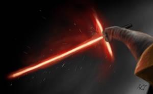 Kylo Ren lightsabre