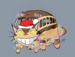 Merry Catbus by quarridors