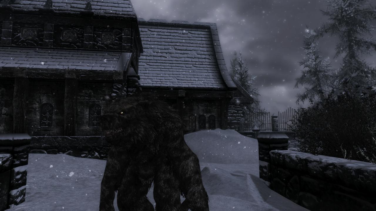 skyrim how to become a werebear