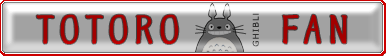 Totoro Fan Button by wotawota