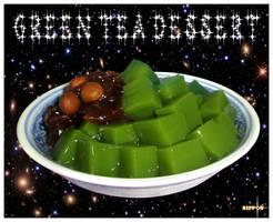 Green Tea Dessert by wotawota